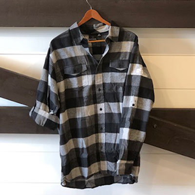 Quayle's Long Sleeved Flannel Shirt